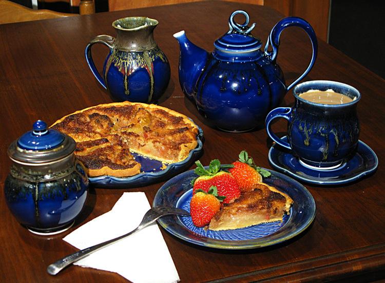 Cobalt Porcelain tea set