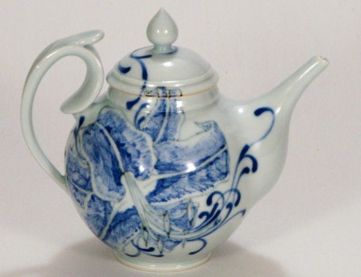 Grolleg Porcelain Illustrated teapot by Andrew Boswell